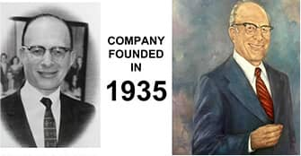 photograph and painting of big blue bug's founder